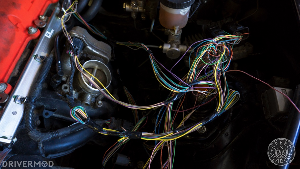 Mazda Miata 2 4L Ecotec Swap Part 5 Wiring Harness And Electric