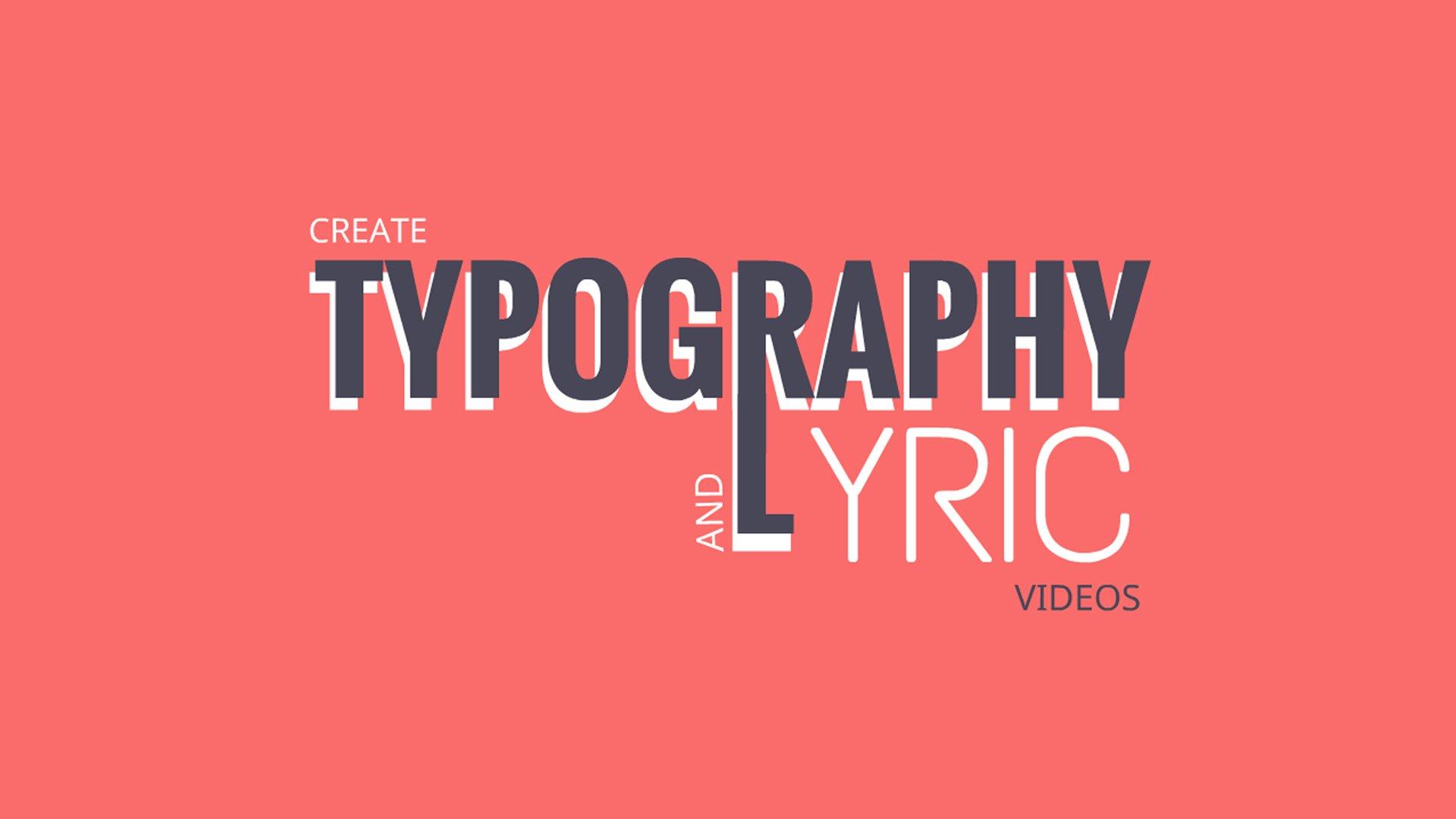 Lyric Video Maker  create lyric videos online