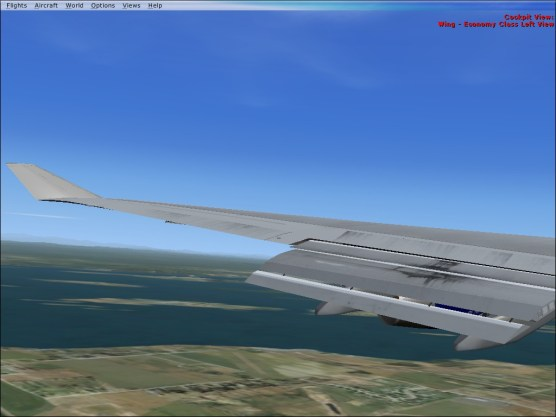 View from the left on final approach.