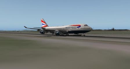 Landing Runway 33L at Boston Logan.
