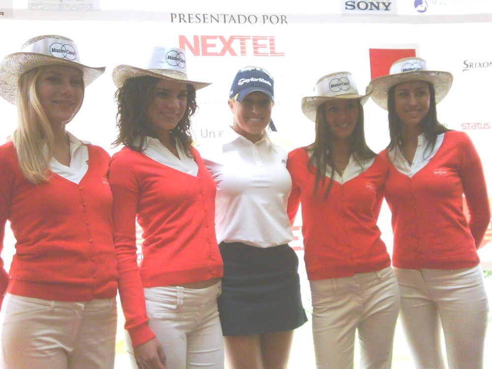 Natalie Gulbis at the Mastercard Tournament in Mexico (1/2)