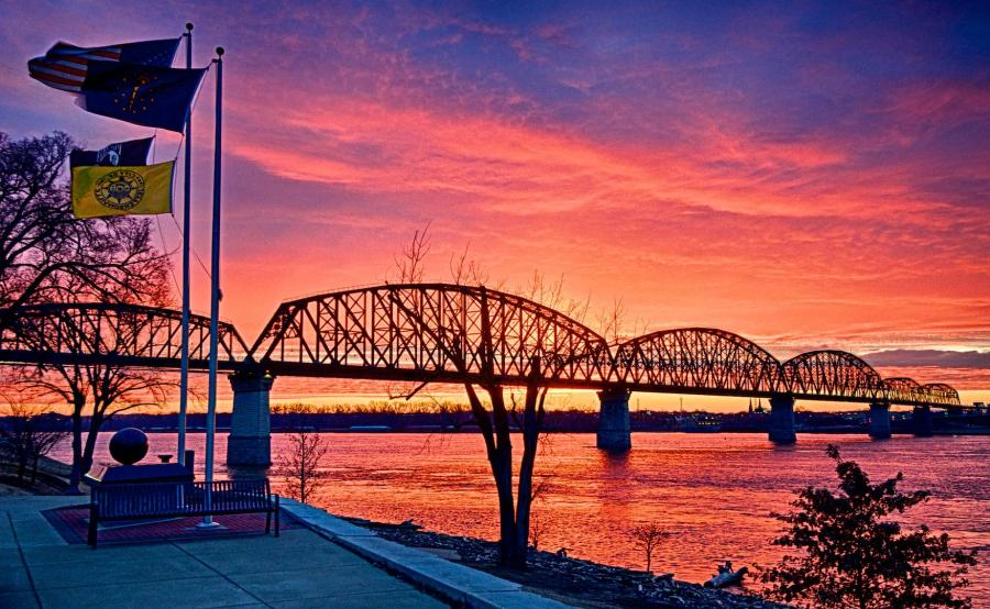 Big Four Bridge Sunrise