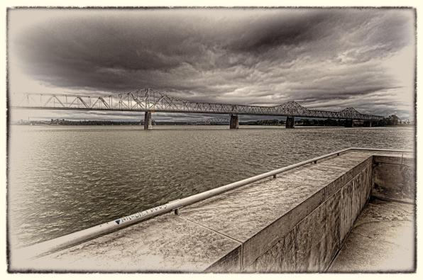 Stormy Morning On The Ohio River #2 (Antique Preset)