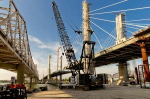 The Downtown Span is nearing completion of the bridge proper. #2