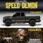 Fallout Camo Rocker Panel Wrap