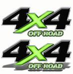 4x4 Truck Decals 2