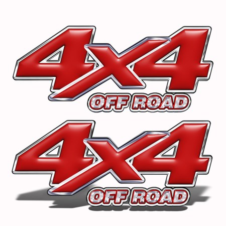 Truck 4x4 Decal Mk201OR4
