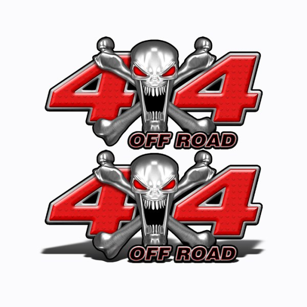 Mk401OR4-4x4-Off-Road-Stainless-Steal-skull-Head-red-web
