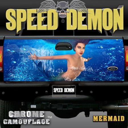 Mermaid Tailgate Wrap