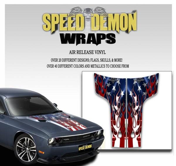 Challenger Hood Stripes American Flag
