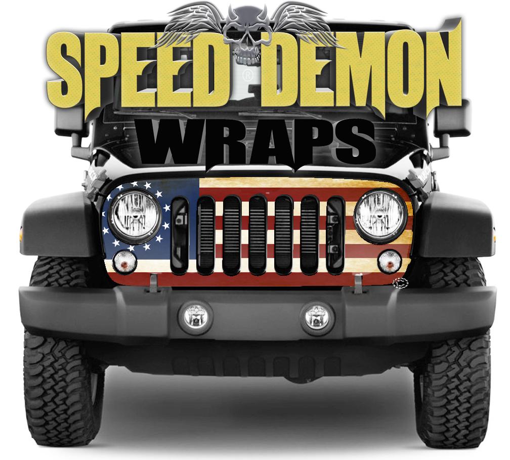 Jeep Grill Wraps 14