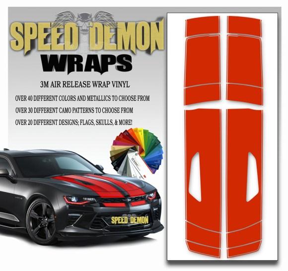 Camaro Stripes 4