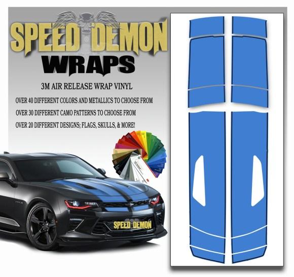 Camaro Stripes 6