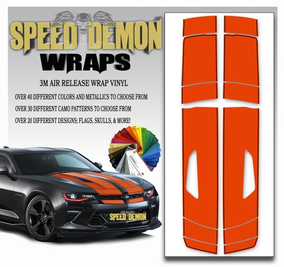 Camaro Stripes 11