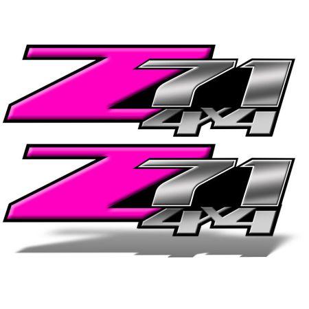 Z71 4x4 DECALS Pink