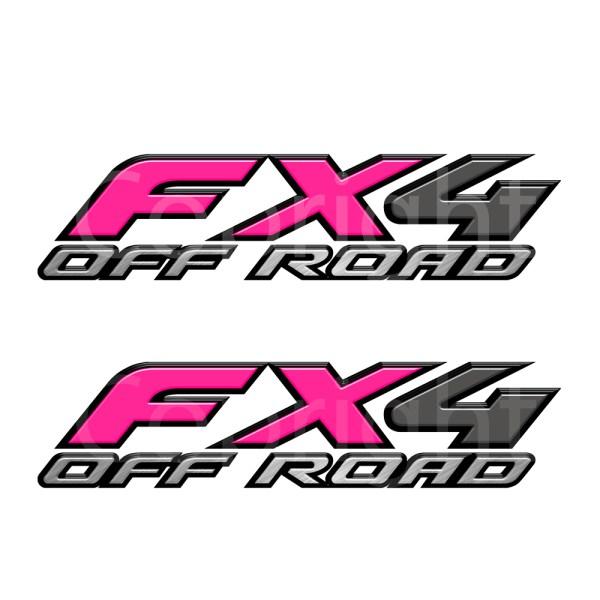 Fx4 Decals Pink