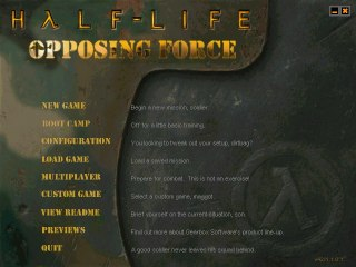 Speed Demos Archive  HalfLife Opposing Force