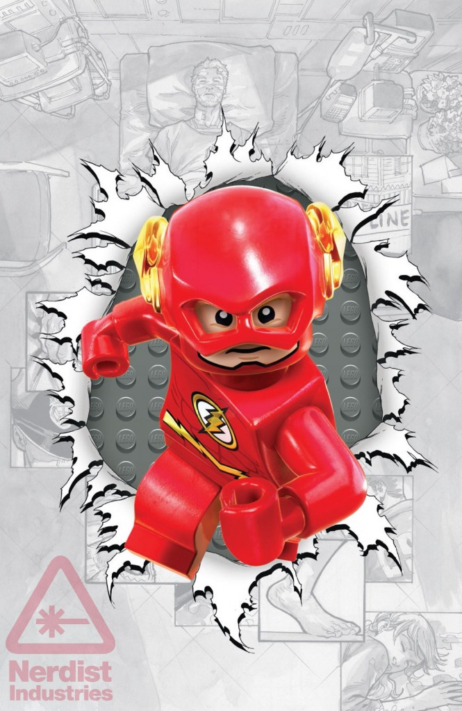 Flash 36 LEGO Variant Cover  Speed Force