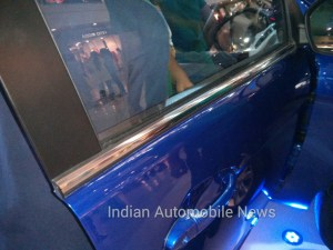 tata zest chrome window lining