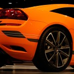 Sports car orange HD Wallpaper