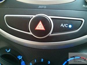 Hyundai verna CRDi 1.4 blue back lit