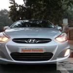 Hyundai verna 1.4 CRDI base front