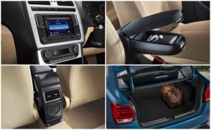 VW ameo features