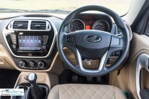 Mahindra TUV300 Plus Review Interior