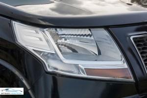 Mahindra TUV300 Plus Review Headlamps