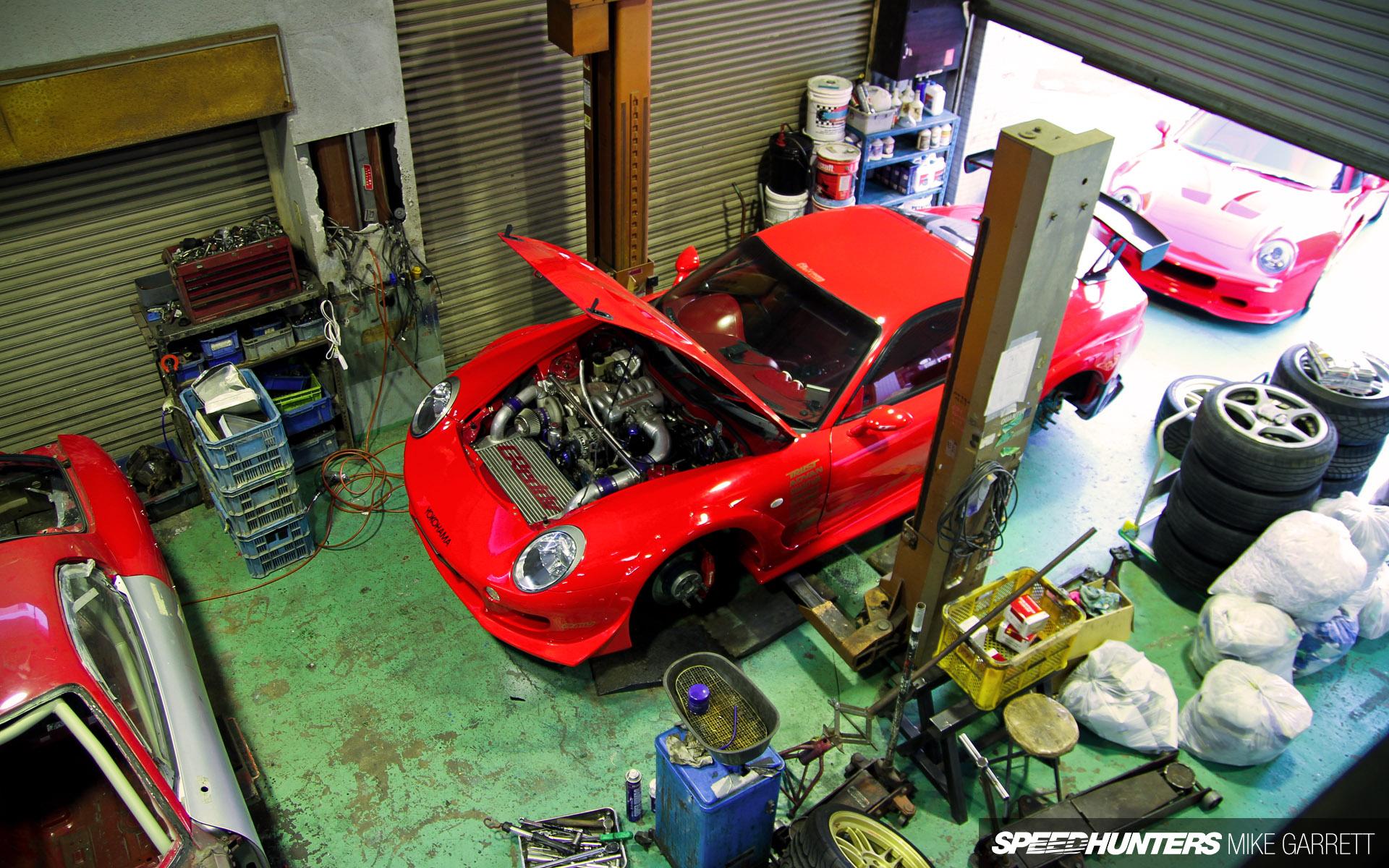 Japanese Car Legends Wallpaper Tokyo Tuning Legend A Visit To Re Amemiya Speedhunters