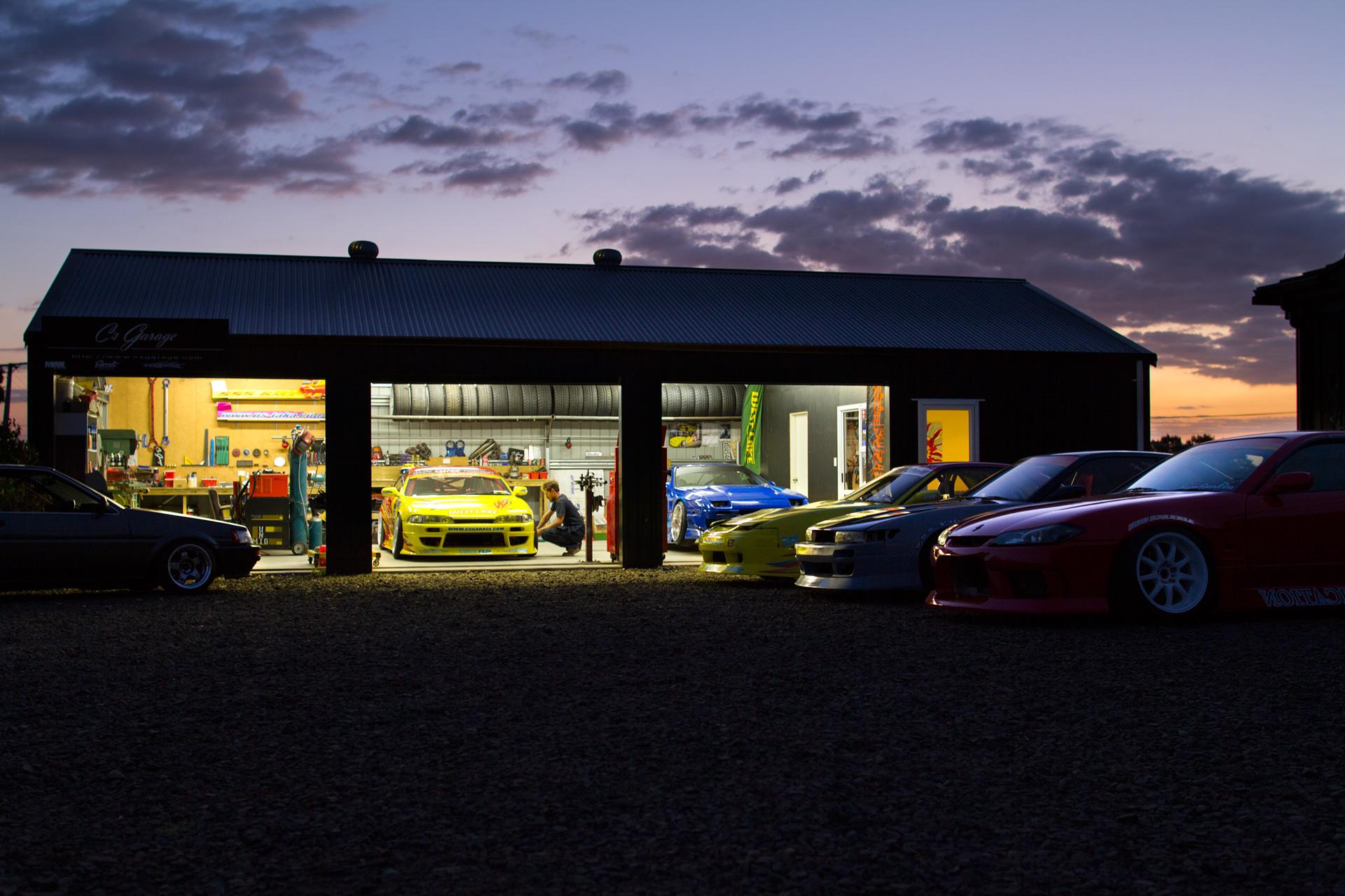 Nz's Temple Of Drift Inside C's Garage  Speedhunters