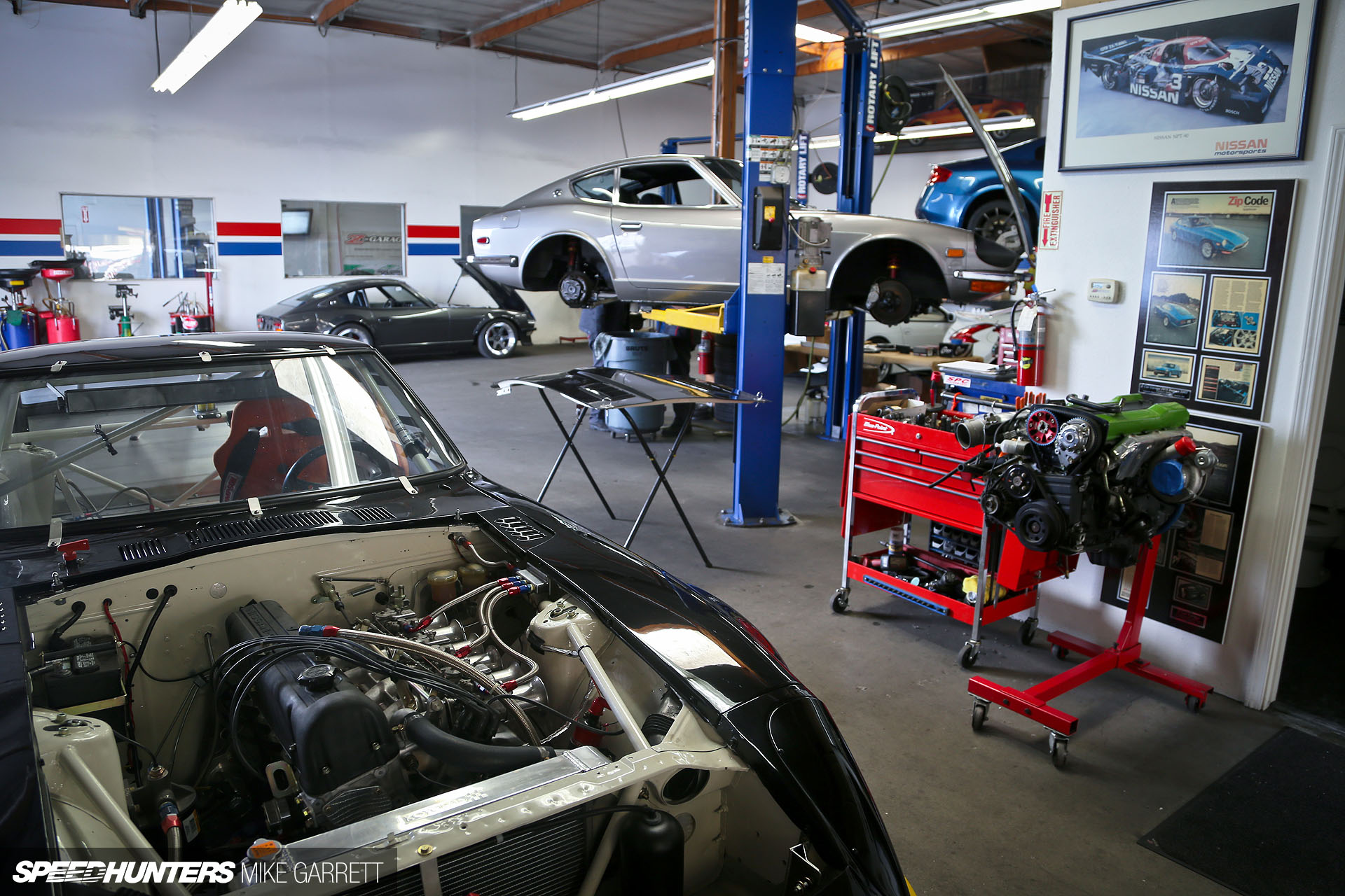 Z Car Garage: Where Datsun Geeks Rule