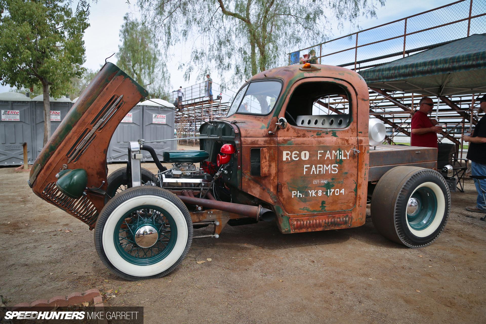 The REO Speed Wagon Rat  Speedhunters