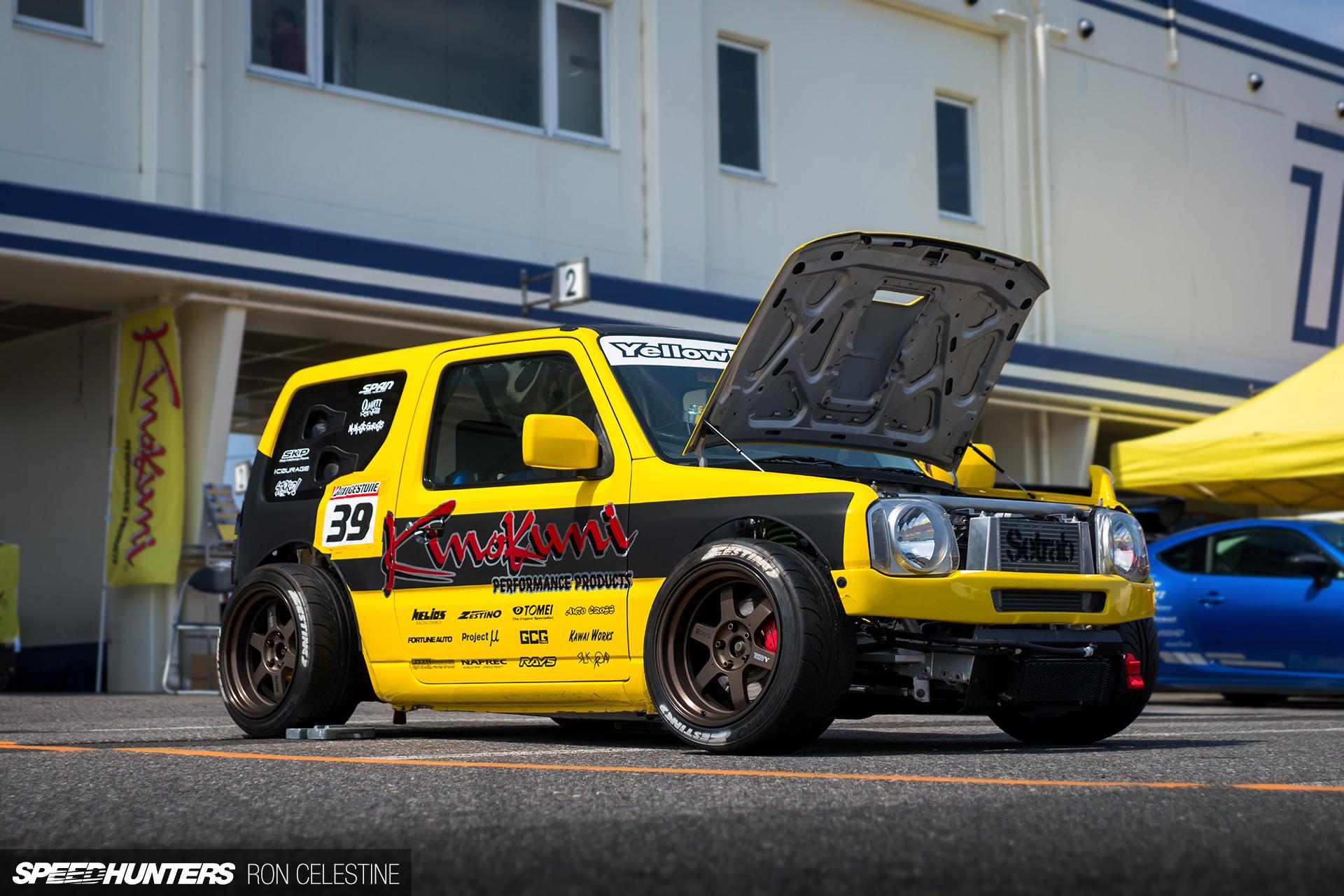 Yellow Bullet 2 The Timeattacking Suzuki Jimny