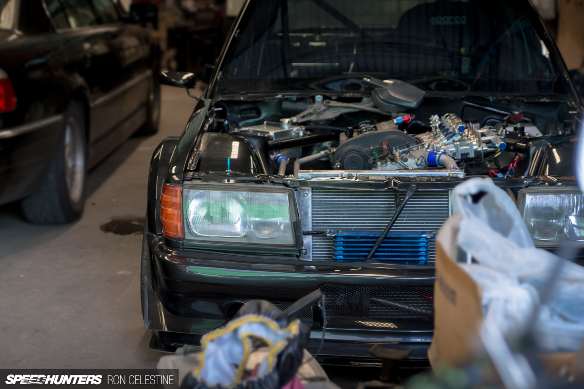 hight resolution of realizing a 190e racing dream