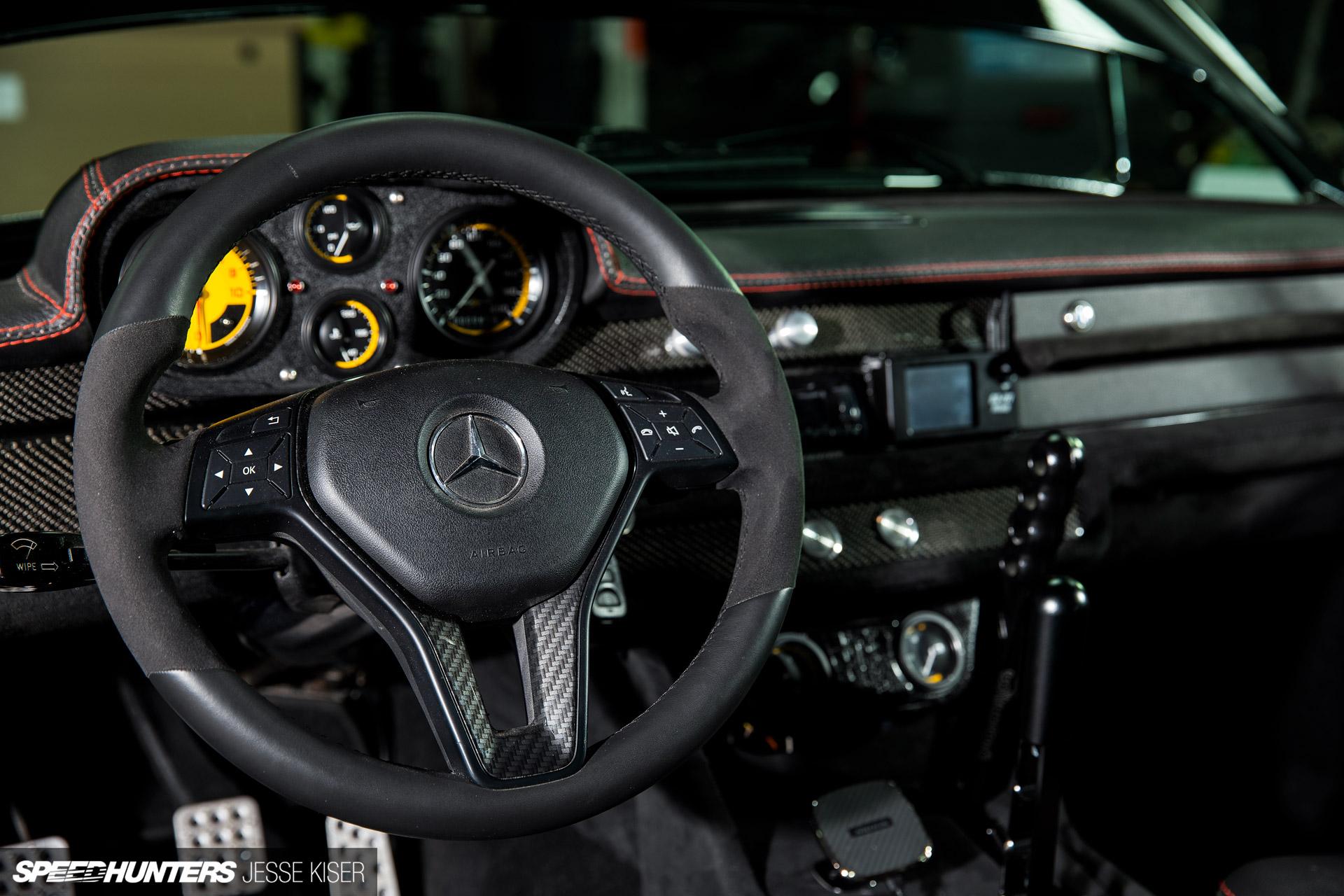 Eurowise's Long & Low Mercedes-Benz Hot Rod - Motor Sport HQ