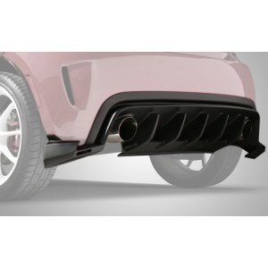 FIAT 500 Diffuser :: Fits US Abarth and Turbo :: 111703 :: Hero Fade :: 500|SPEEDLAB