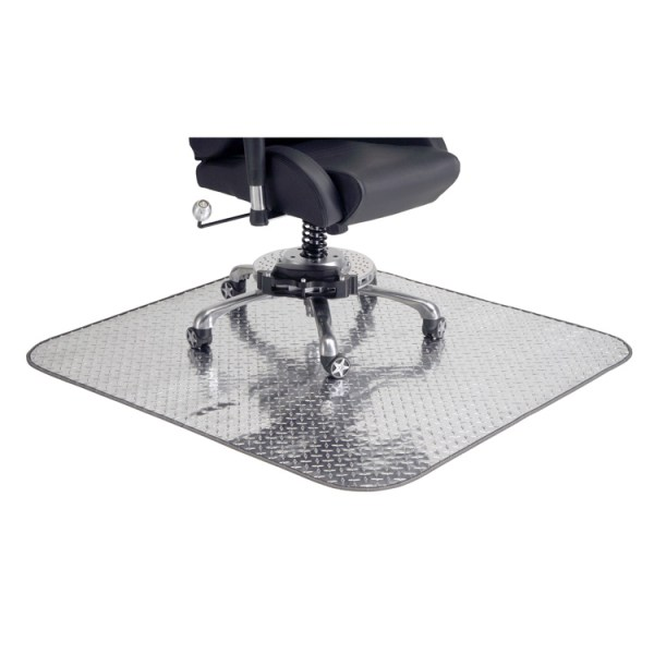 500|SPEEDLAB PitStop Furniture Diamond Plate Chair Mat DPCM4750 01