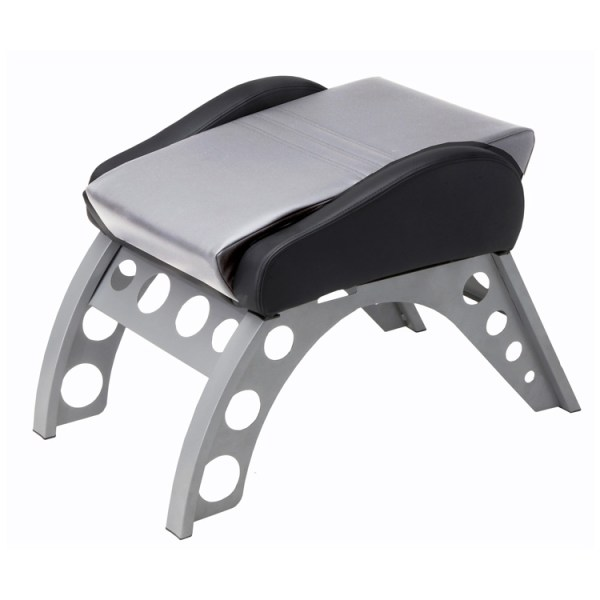 500|SPEEDLAB PitStop GT Receiver Foot Rest Silver FR3000S