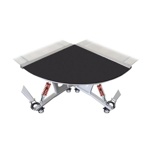 500|SPEEDLAB PitStop GT Spoiler Desk Connector Black GPW210B