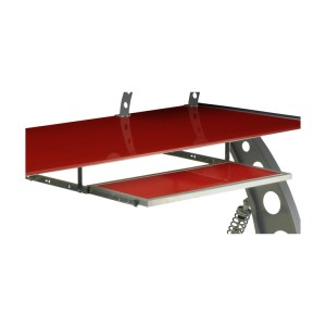 500|SPEEDLAB PitStop Furniture GT Spoiler Desk Keyboard Tray Red KPT300R