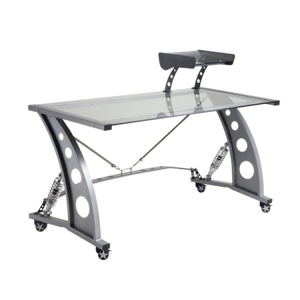 500|SPEEDLAB PitStop GT Spoiler Desk Clear PFD2000C Front