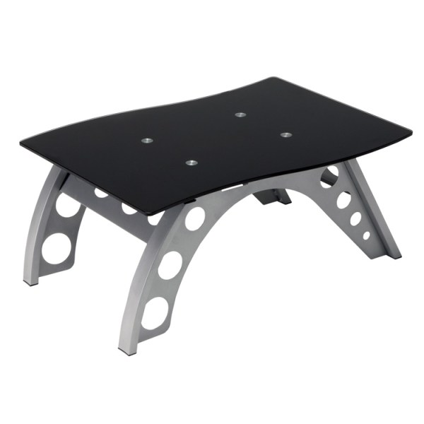 500|SPEEDLAB PitStop Chicane Side Table Black ST9000B