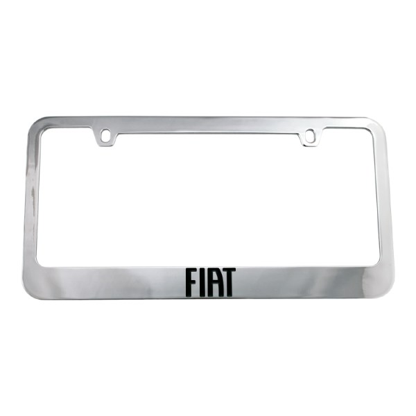 500|SPEEDLAB Fiat 500 License Plate Frame 01