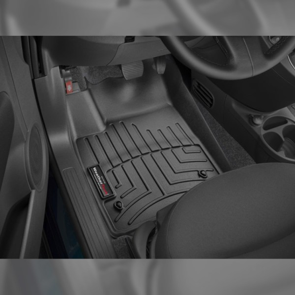 500|SPEEDLAB Weathertech Floorliners for FIAT 500 Front
