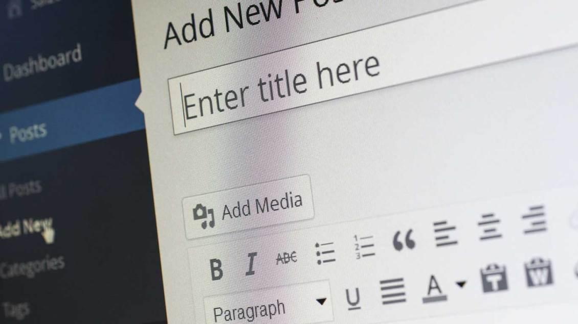 WordPress Blog Post