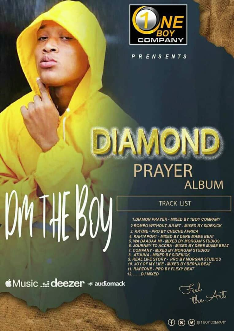 DM the Boy - DIAMOND PRAYER (Full Album)