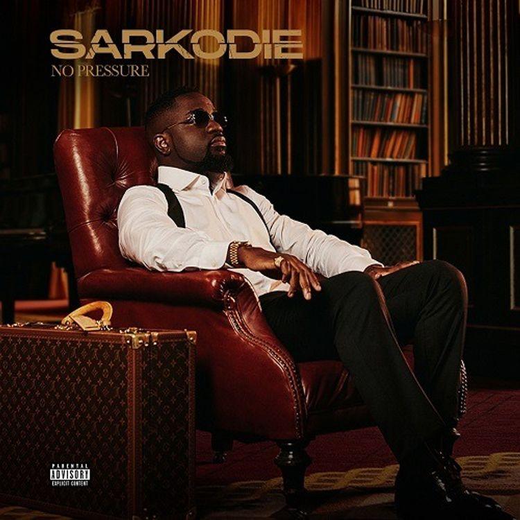 sarkodie no pressure album cover art
