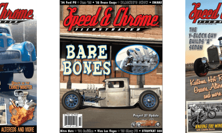 The Birth of Speed & Chrome Illustrated Magazine: Cars and Art Part 1