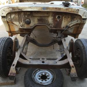1962 Ford Unibody Truck Project